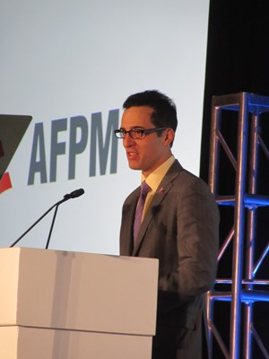 Raphael Crawford, Chairman AFPM Petrochemical Committee, President, Catalyst Solutions, Albermarle Corporation.