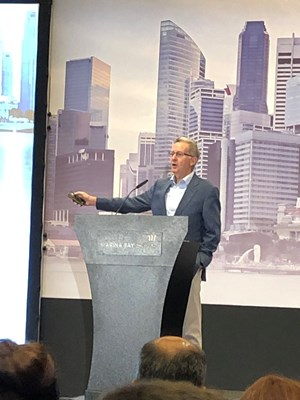 Bentley Systems CEO Greg Bentley kicks off the 2019 Year in Infrastructure Conference this week in Singapore.