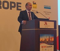 Giacomo Rispoli provided opening remarks at Hydrocarbon Processing