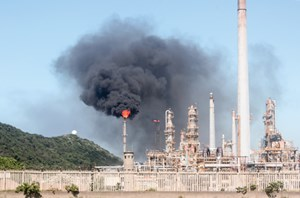 FIG. 1. View of Sasol's refinery in South Africa.