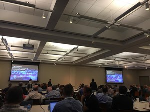 A full house greeted the keynote presentation at OSIsoft's Texas Regional Seminar