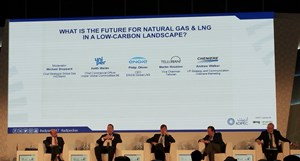 Michael Stoppard, Chief Strategist for Global Gas at IHS Markit, moderated the panel, which included four executives representing Uniper, Engie, Tellurian and Cheniere.