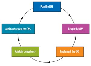 Fig. 3. Elements of a CMS.