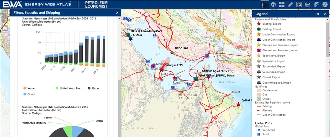 Energy Web Atlas Releases New Features for Real-Time LNG