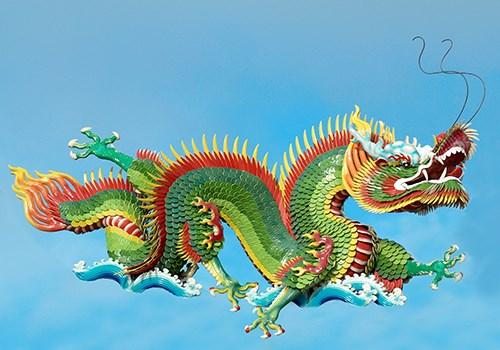 China—the green dragon